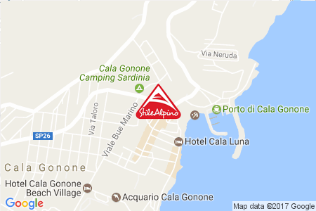 Google Map of Via della Pineta 2 08022 Cala Gonone NU